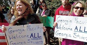 Luchan contra el veto educativo