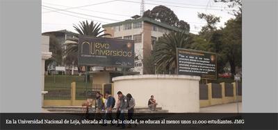 CES investiga a Universidad Nacional de Loja
